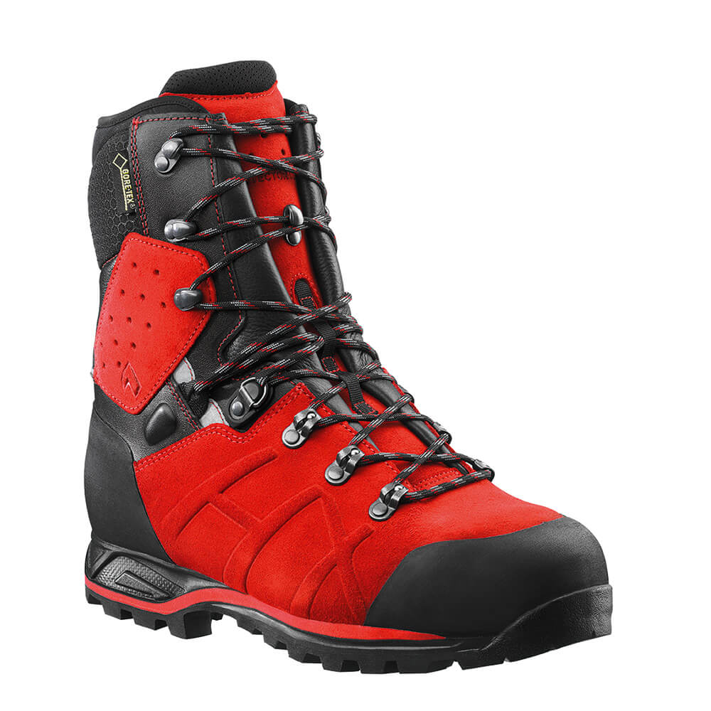 Haix Protector Ultra Signal Red Chainsaw Boot