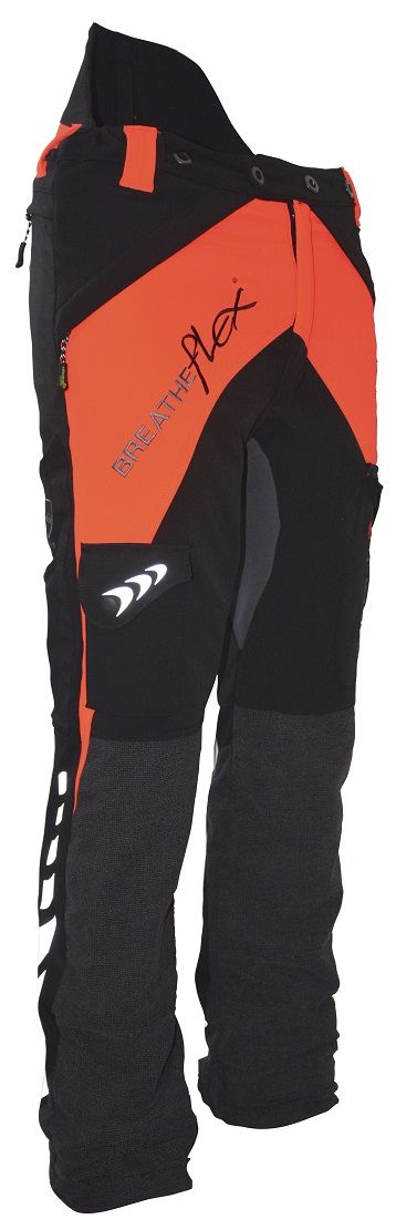 Arbortec Breatheflex Type C Class 1 Trousers Orange & Black