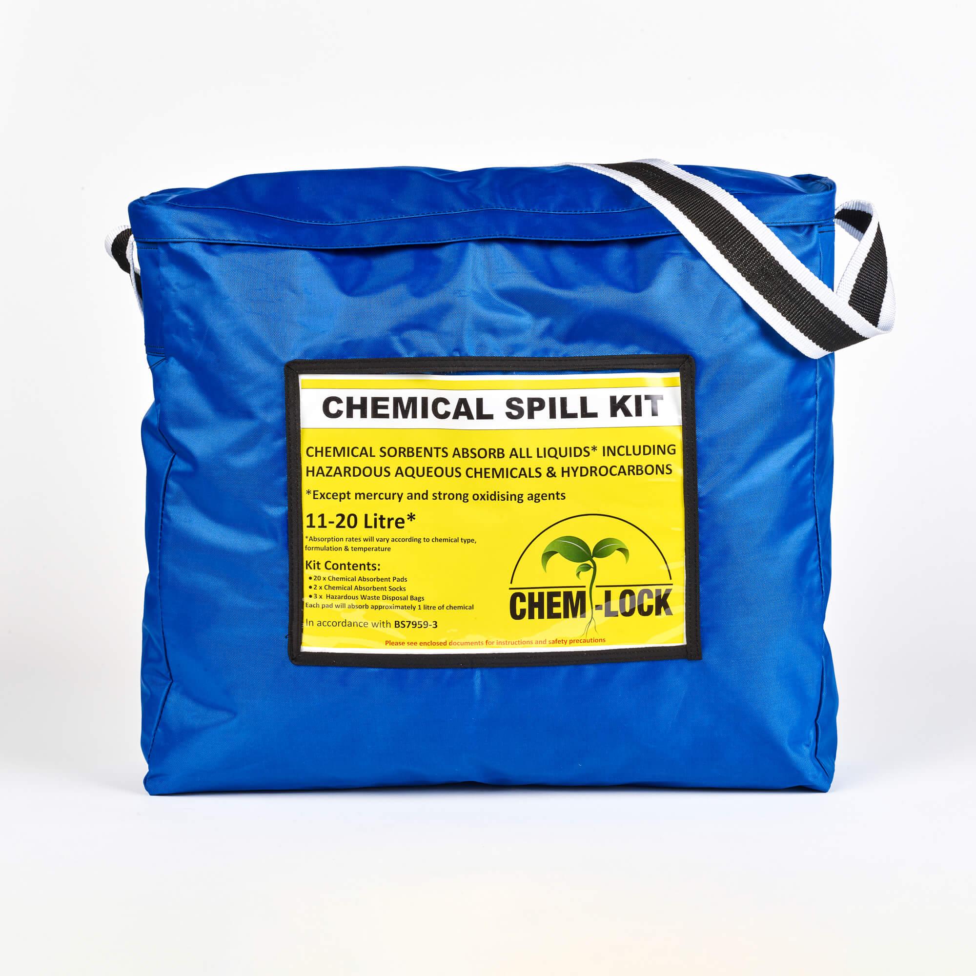 Chem-Lock® Chemical Hazchem Spillage Kit