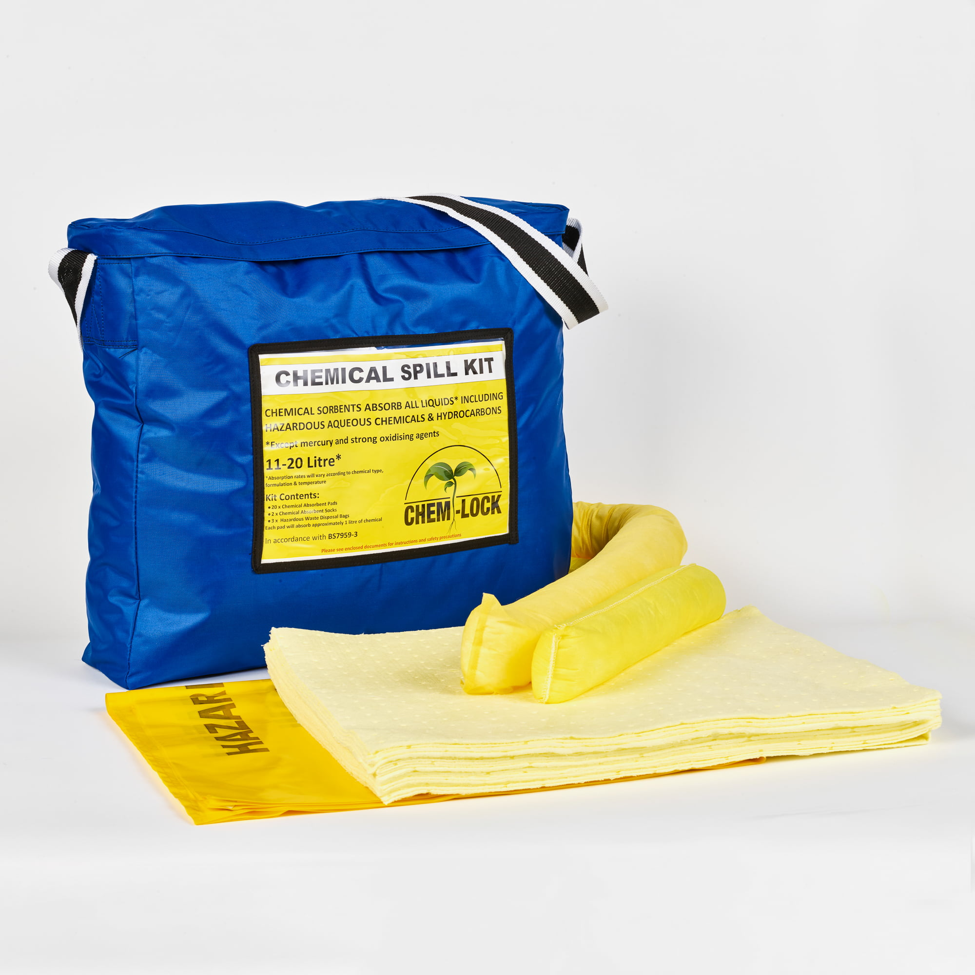 Chem-Lock® Chemical Hazchem Spillage Kit