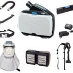 Drager X-plore 8000 Powered Air-Purifying Respirator (PAPR) Kit