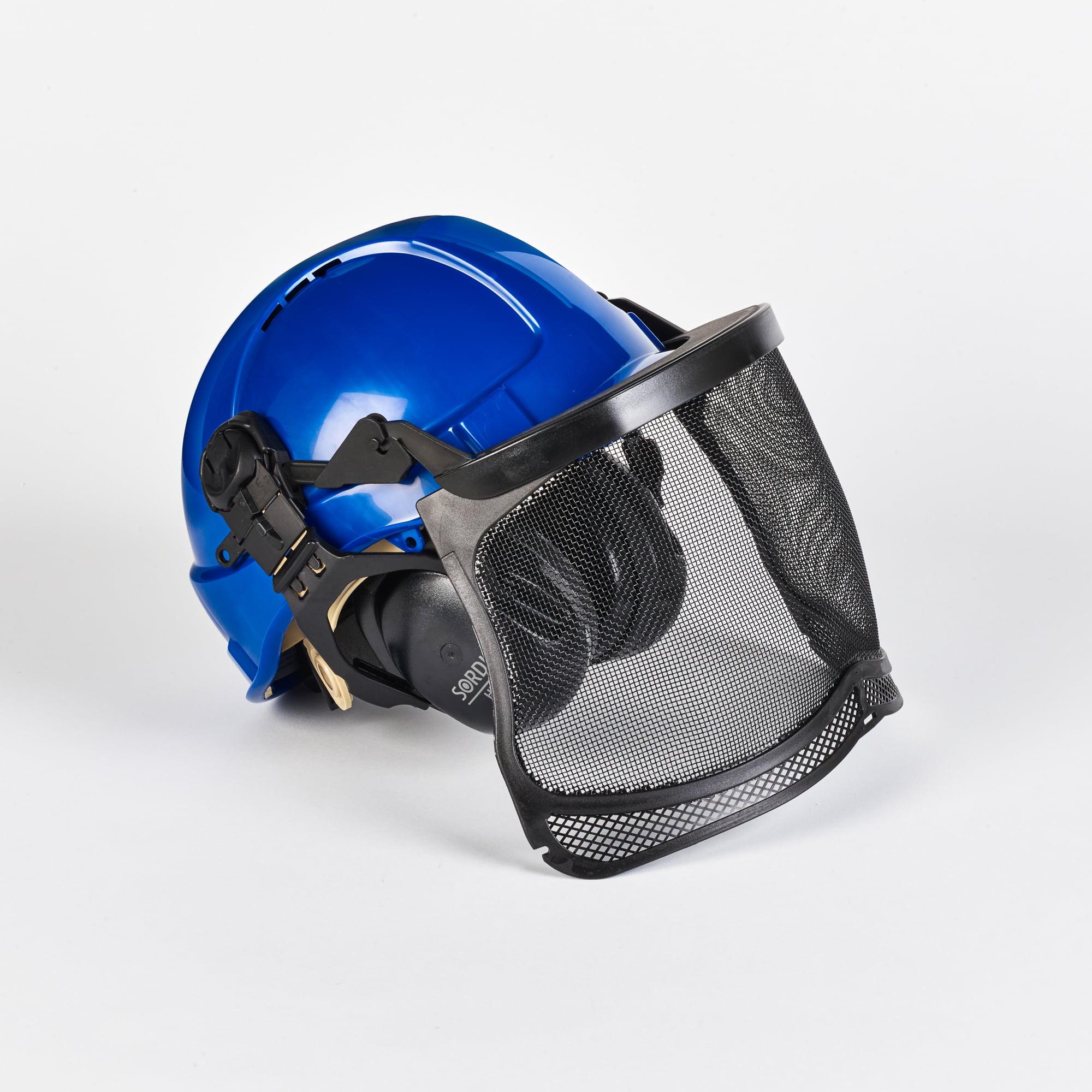 Base Tech Forestry Ground Helmet SNR 31dB (Blue)