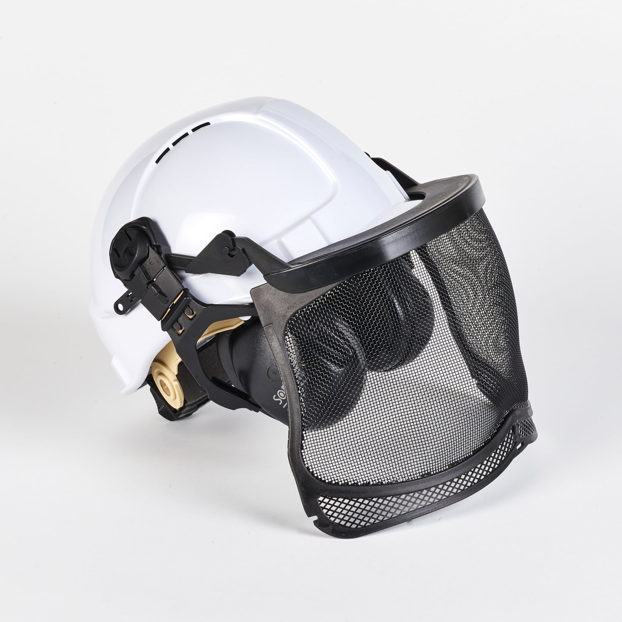 Base Tech Forestry Ground Helmet SNR 31dB (White)