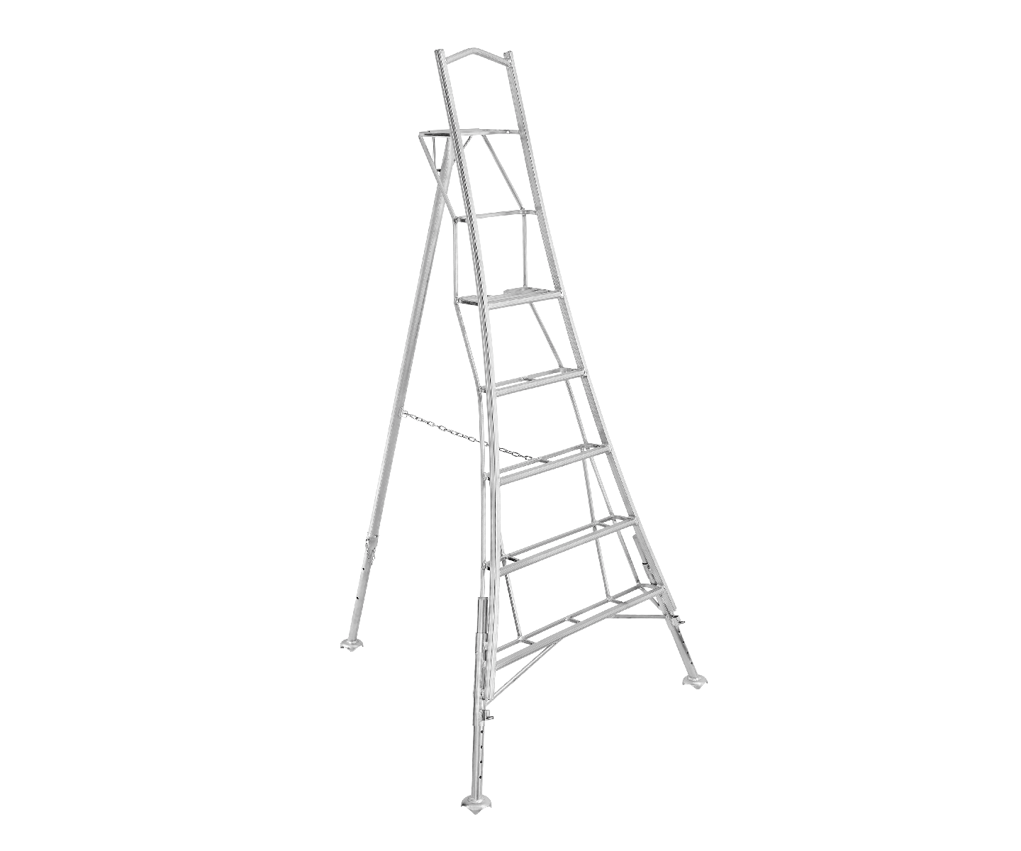 Hendon HPM 3 Leg Adjusting Tripod Ladder 8FT/2.4M