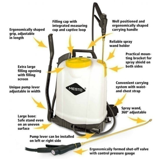 Chem-Lock® Moss Control Package RS185 Backpack Sprayer 18L