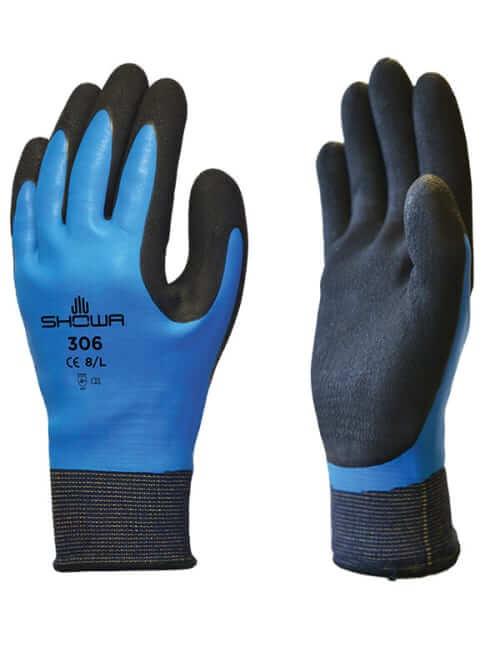 Showa 306 Waterproof Gloves (Large)