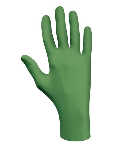Showa 6110PF Biodegradable Nitrile Disposable Gloves (Box 100)