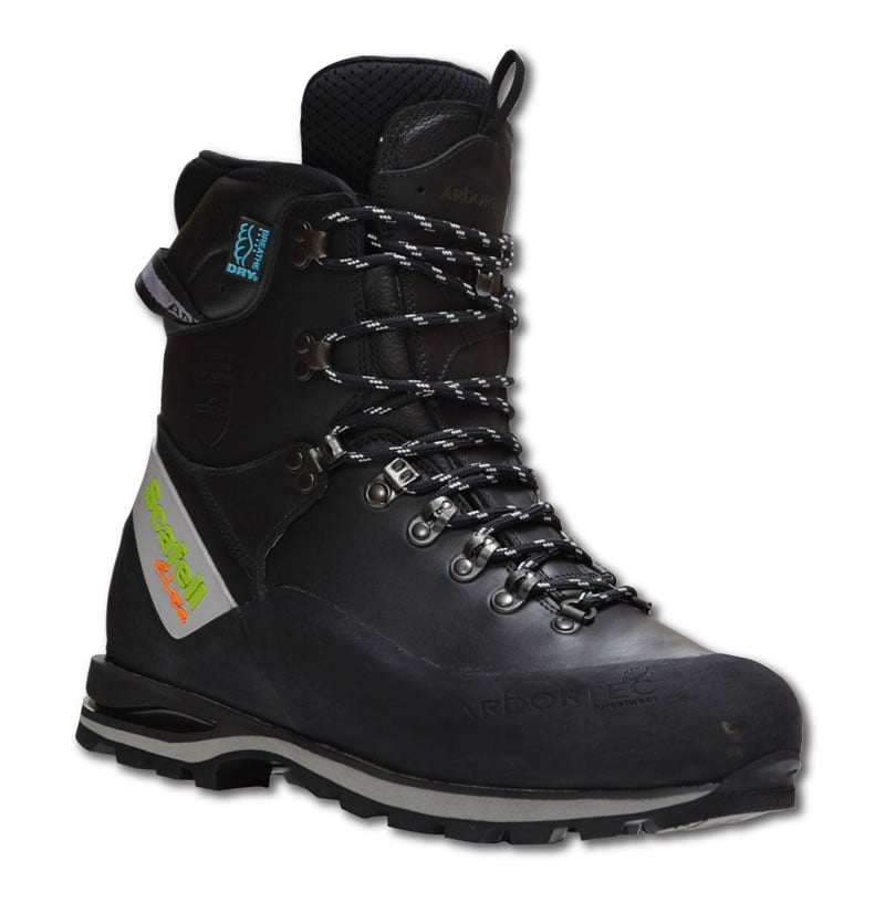 Scafell Lite Class 2 Chainsaw Boots (Black)