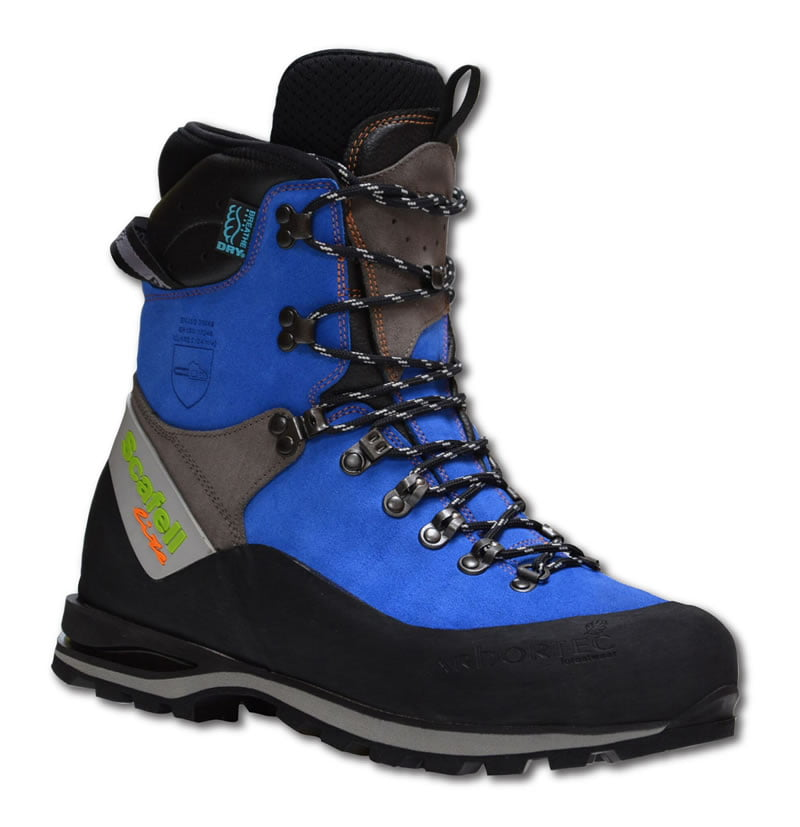 Scafell Lite Class 2 Chainsaw Boots (Blue)