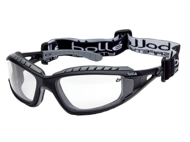 Bolle Tracker Safety Glasses (Clear)