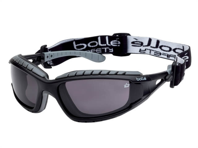 Bolle Tracker Safety Glasses (Smoke)