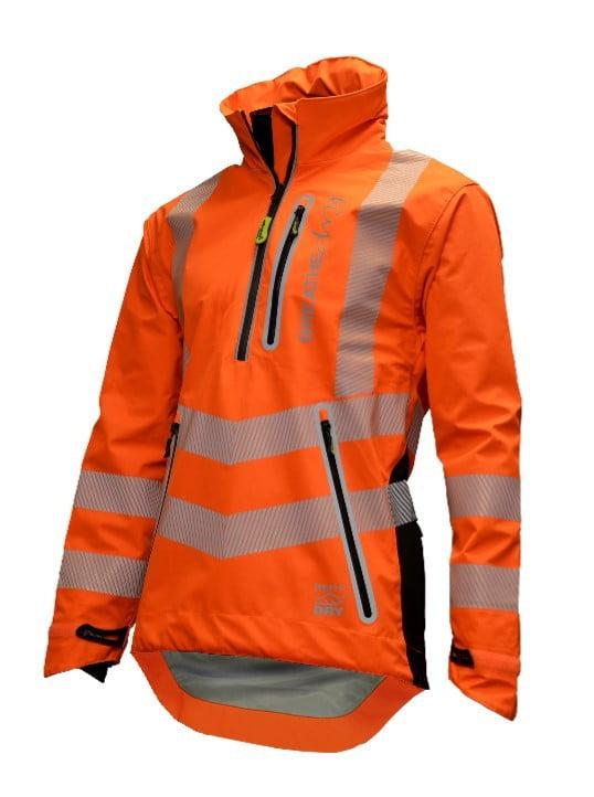 Arbortec Breathedry Hi Vis Orange Waterproof Smock