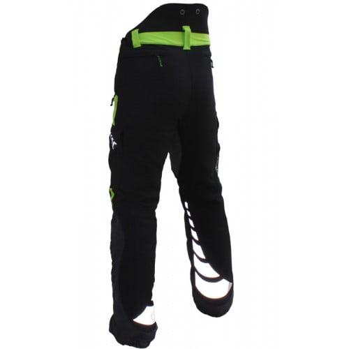 Arbortec Breatheflex Type A Class 1 Trousers Lime & Black