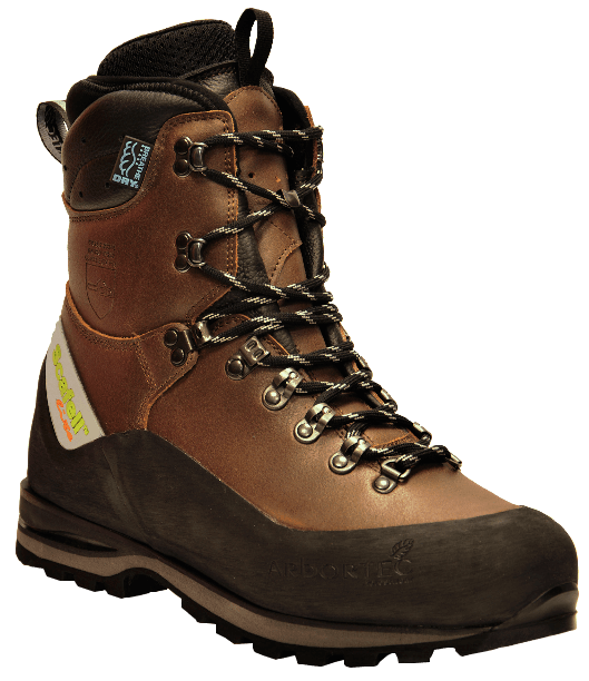 Scafell Lite Class 2 Chainsaw Boots (Brown)