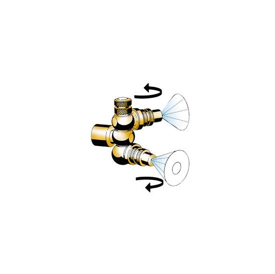 Mesto – 1340 Double Swivel Nozzle (with 1302 Nozzles)