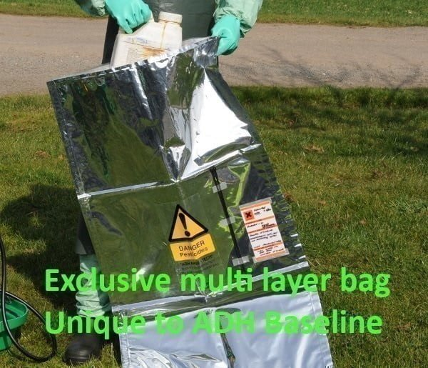 Chem-Lock® Chemical Hazchem Spillage Bag