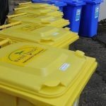 Chem-Lock® Haz Mat Chemical 240L Yellow Wheelie Bin Spill Kit