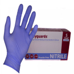 Bodyguard GL891 Long Cuff Blue Nitrile Gloves
