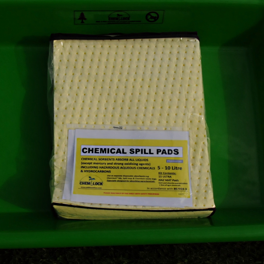 Chemlock® Active 010 Absorbency Pads