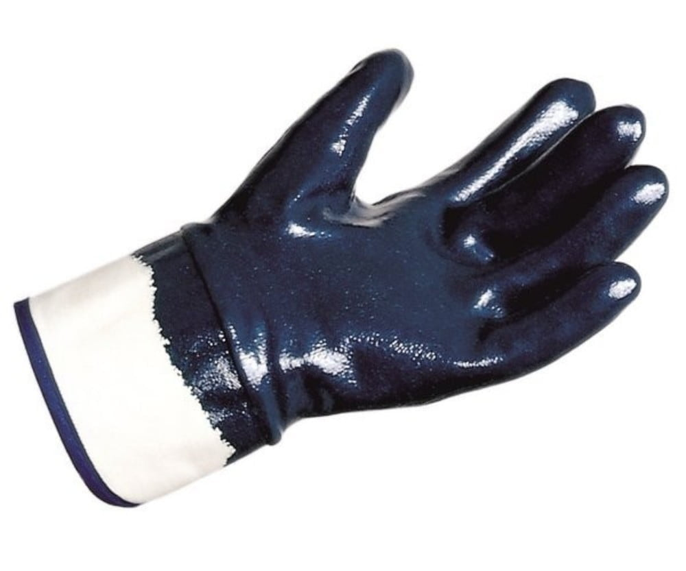 Titan 388 Blue Nitrile Safety Cuff Heavy Duty