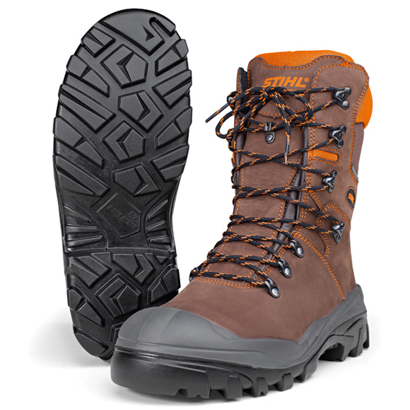 Stihl Dynamic S3 Leather Chainsaw Boots