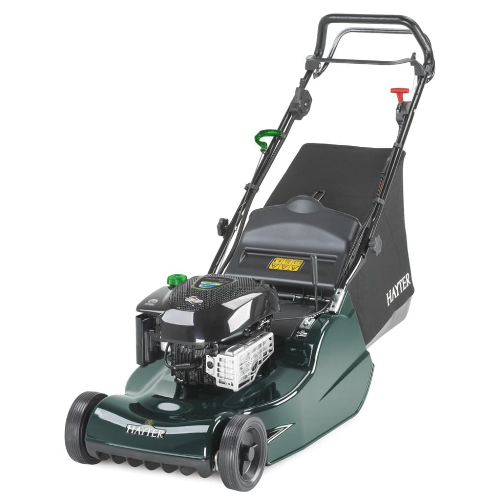 Hayter Harrier 48 (475A) B.B.C Self Propelled VS Lawnmower