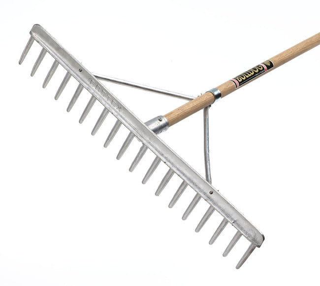 Bulldog Hay Rake (Alloy Head)