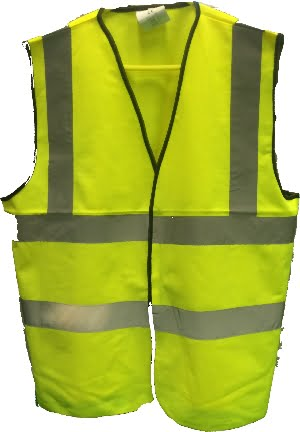 Hi Vis Vest Yellow or Orange