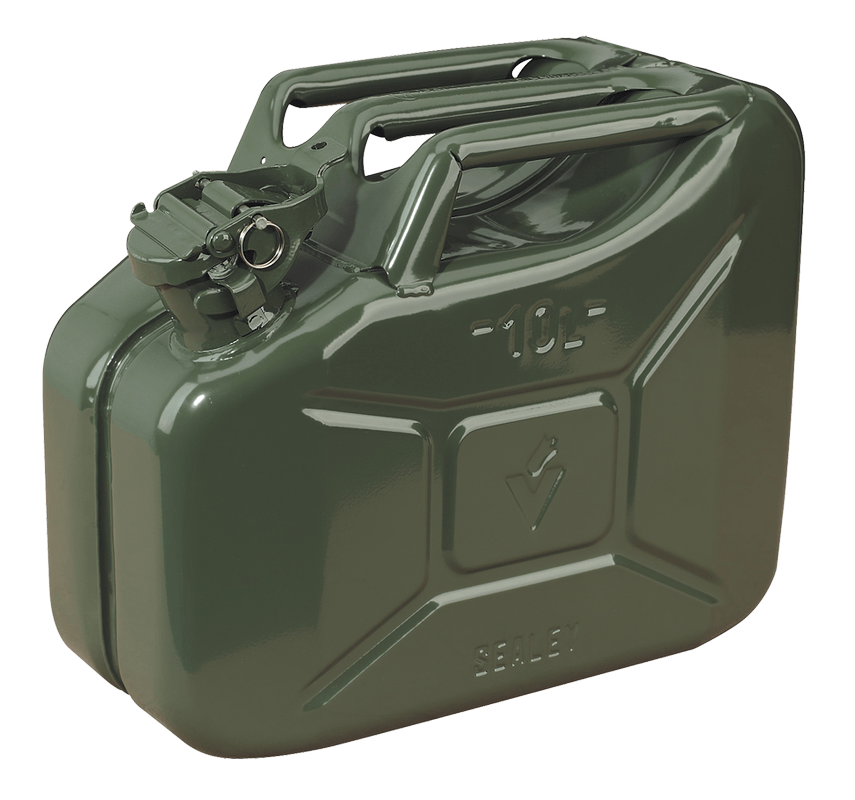 10L Jerry Fuel Can – Choice of Colours