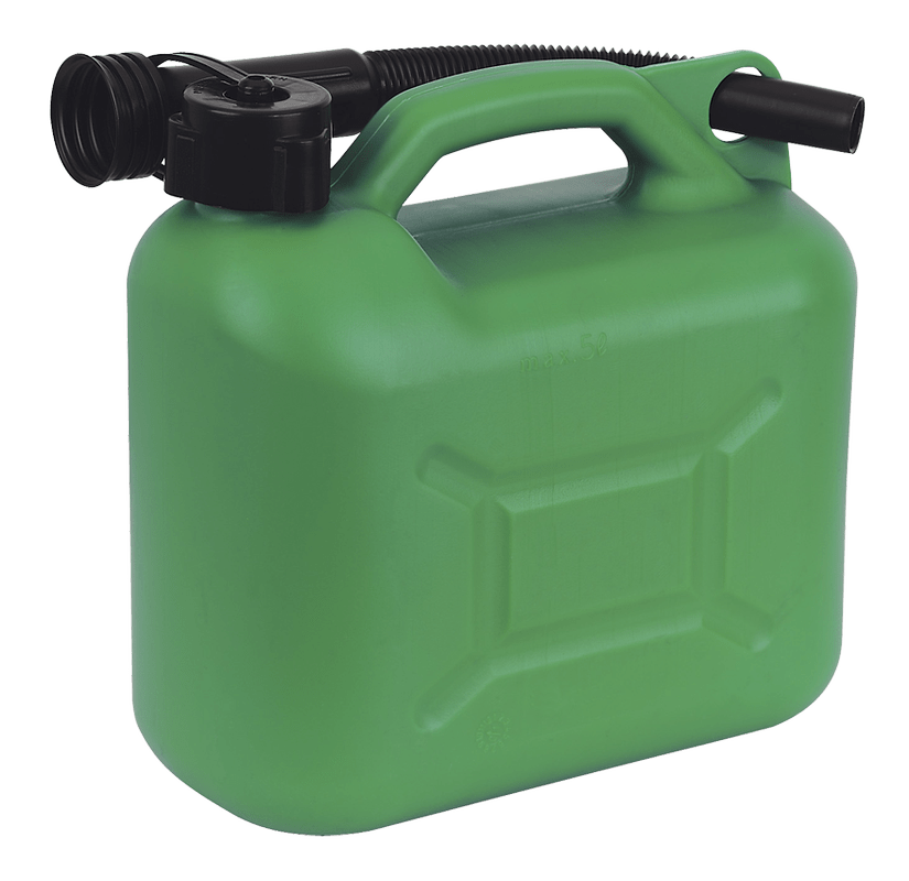 5L Plastic Fuel Can – Choice of Colours