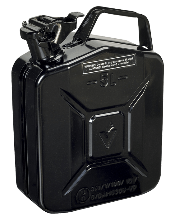 5L Jerry Fuel Can – Choice of Colours