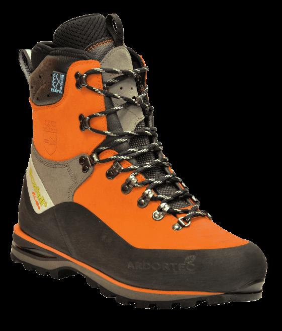 Scafell Lite Class 2 Chainsaw Boots (Orange)