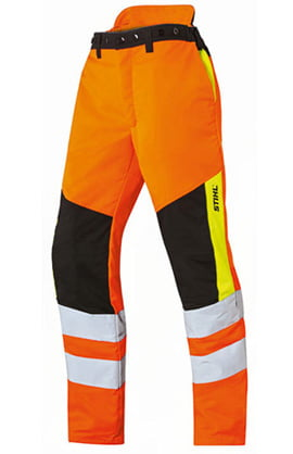 Stihl MS PROTECT Hi Vis Protective Trousers