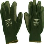 Black Nitrile Coated PU Work Gloves