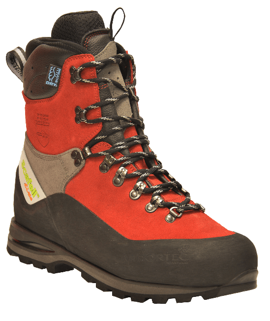 Scafell Lite Class 2 Chainsaw Boots (Red)