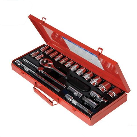 Silverline Socket Wrench Set 1/2″ Drive 21Pc