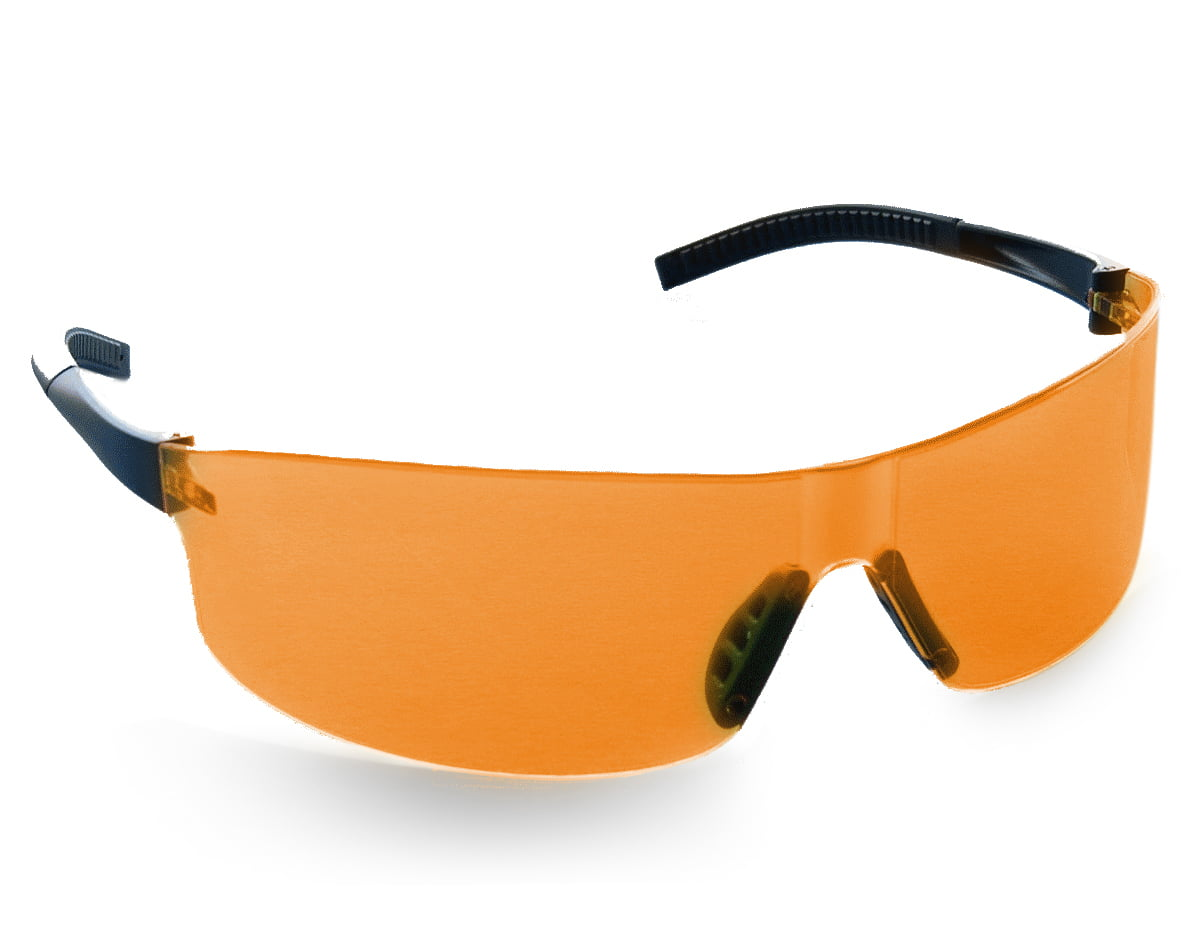 Stein Orbit Safety Glasses – Orange