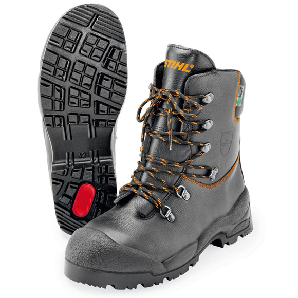 Stihl Function Leather Chain Saw Boots