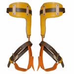 Bashlin Twisted Steel Shank Climbers & Leather Pads