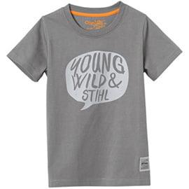 Young Wild & Stihl Kids T Shirt